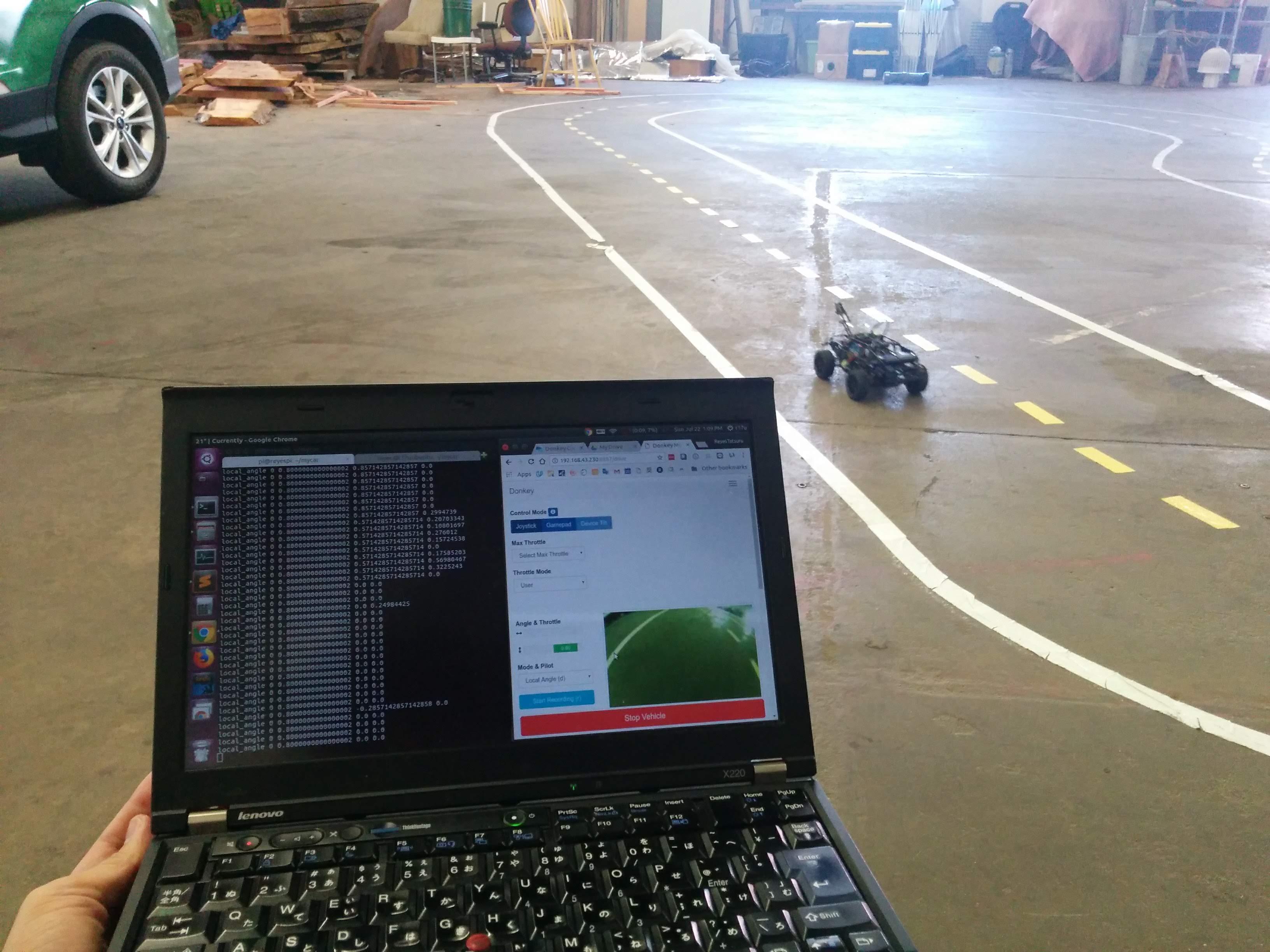 YOLO v3 with Onboard Camera on Jetson TX2 | SHIROKU NET