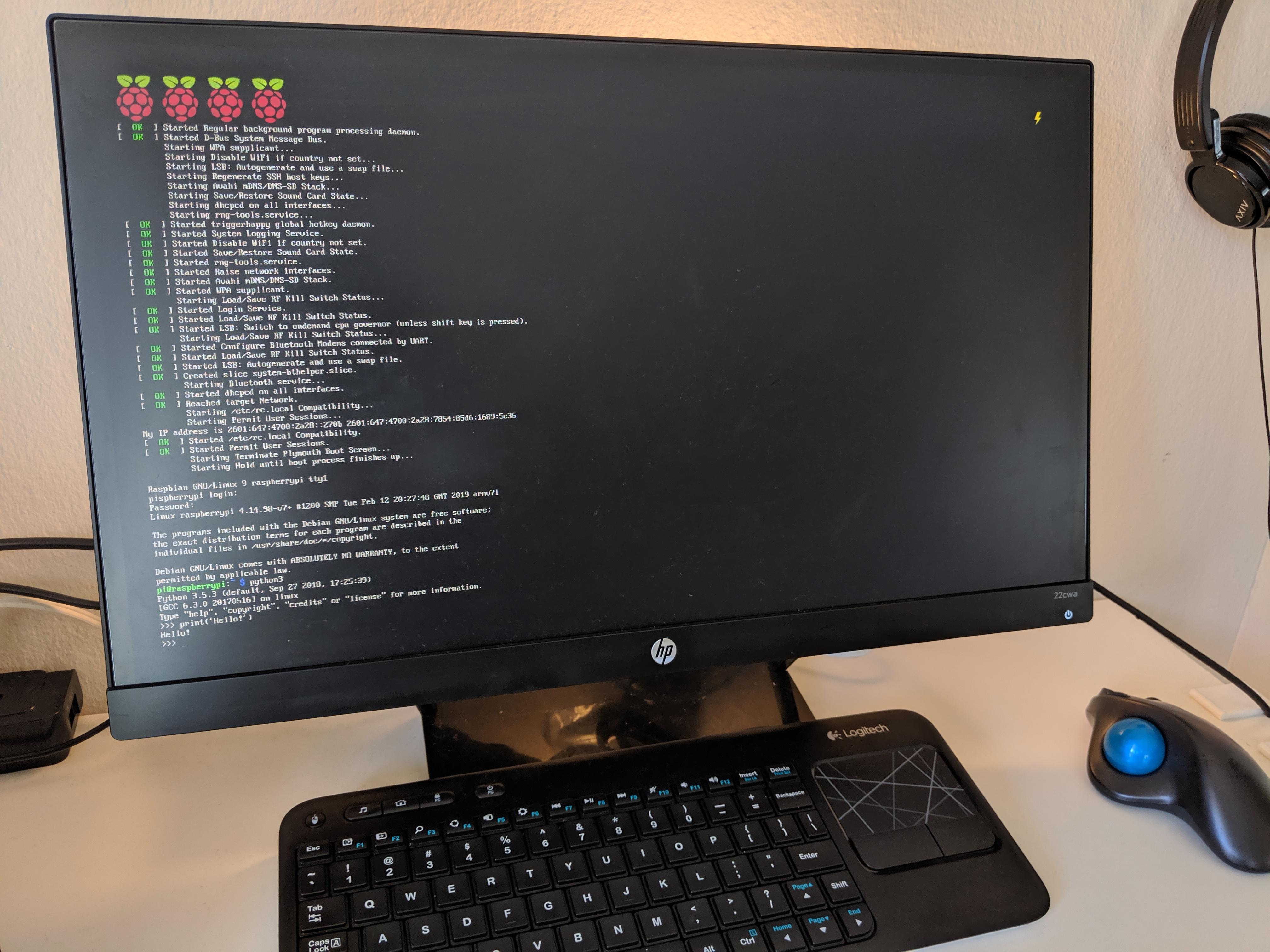 Raspberry Pi 3B Setup | SHIROKU NET
